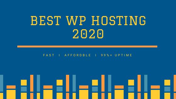 Best WP Hosting 2020