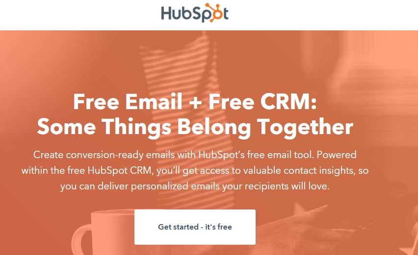 Hubspot Email number 2 pick in best email software