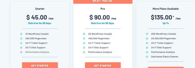 Pressable Managed Hosting Pricing for WordPress