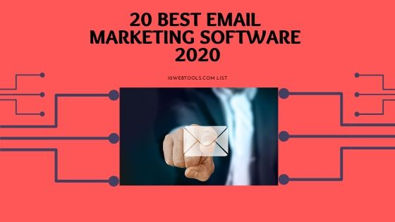 Best Email Markeging Software for Automation in 2020