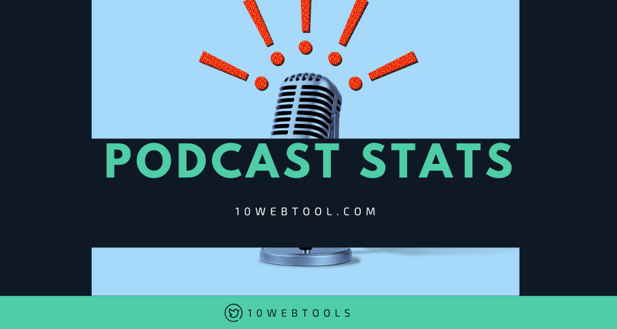 top podcast hosting rated by 10WebTools